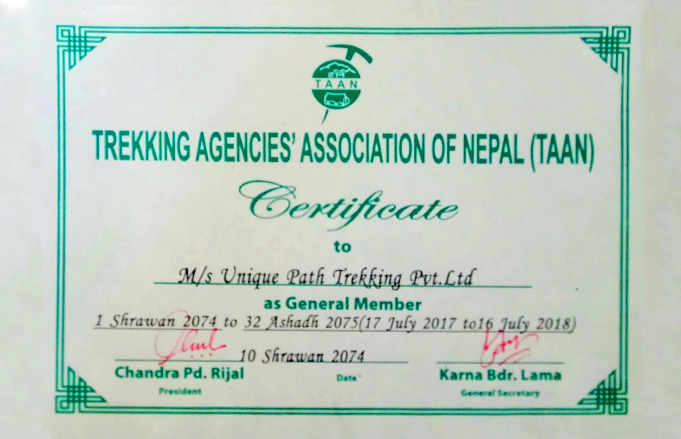 certificate-taan