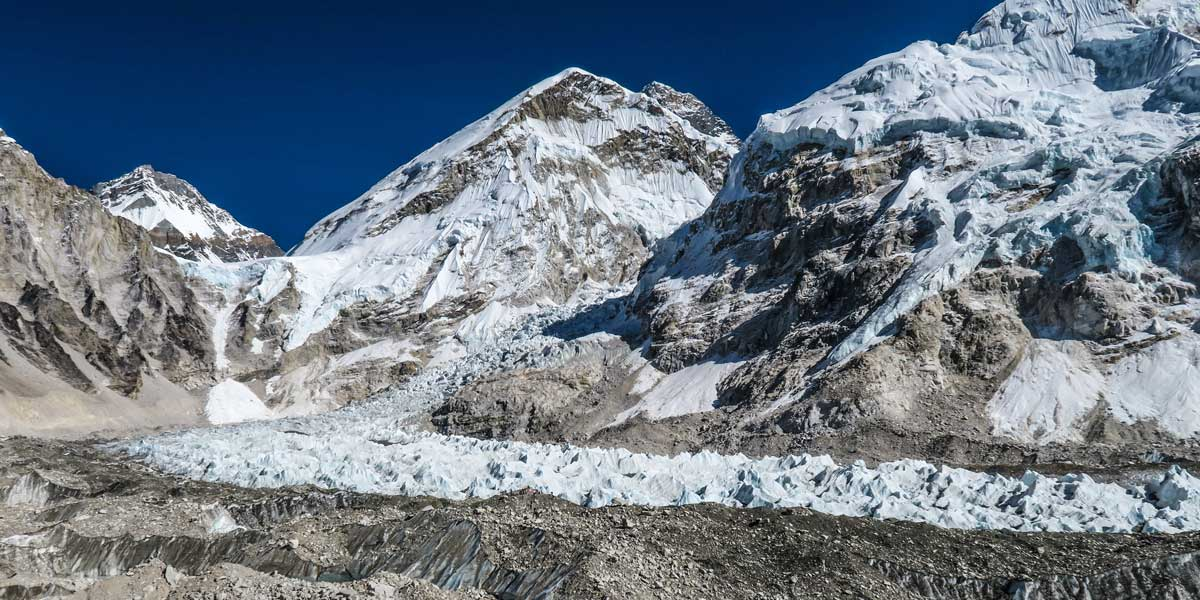 Khumbu Ice Fall Everest Region